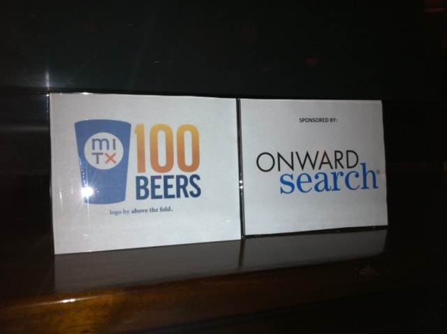 Onward Search Events: MITX 100 Beers