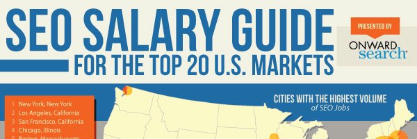 SEO Salary Guide for the top 20 US Markets