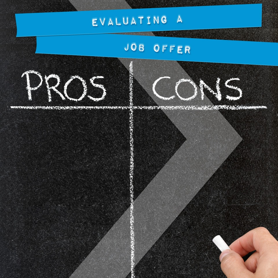 evaluating a job offer onward search evaluating a job offer
