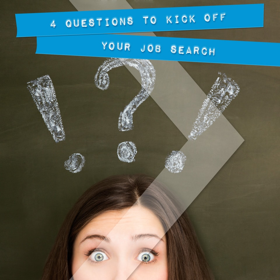 Kicking Off Your Job Search