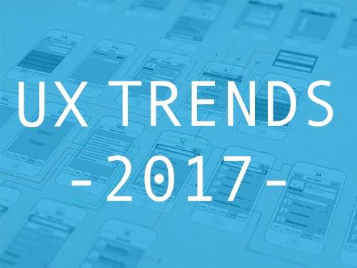 UX Trends 2017