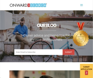 Onward Search Blog Ranked Top 10 in Staffing Industry