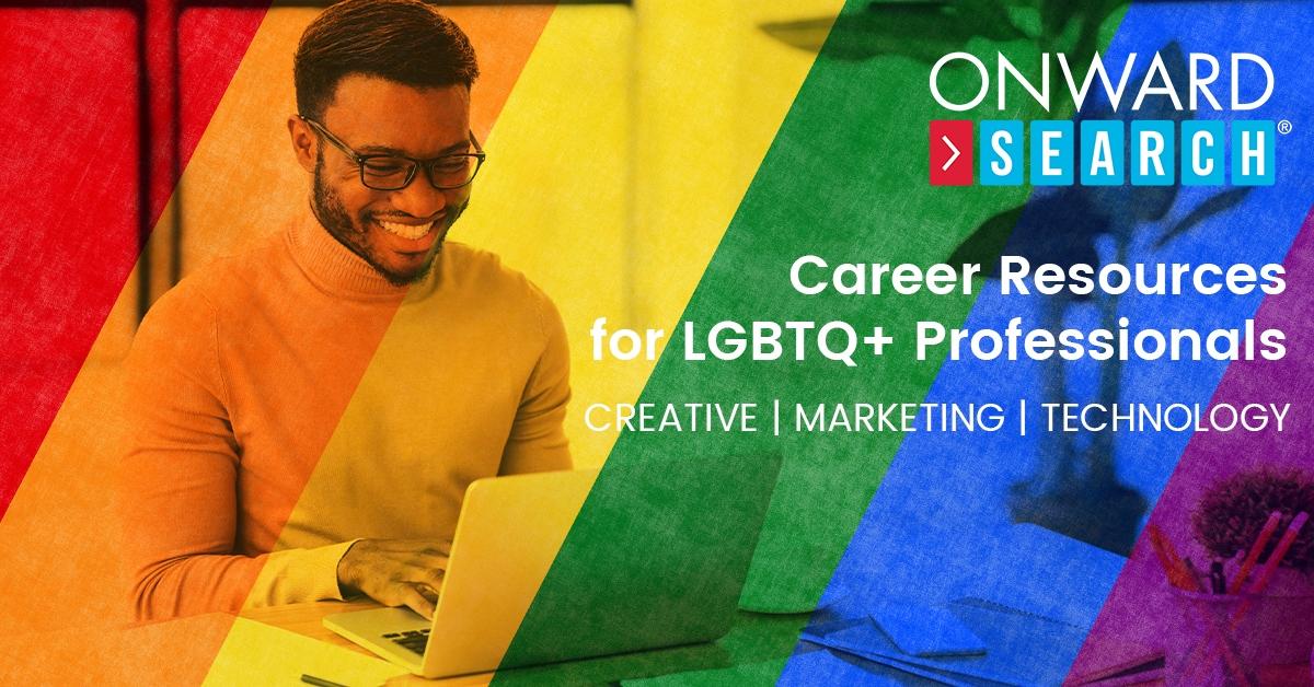 View Onward LGBTQ+ Career Resources