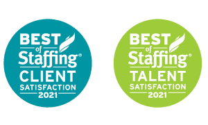 Onward Search Best of Staffing Award